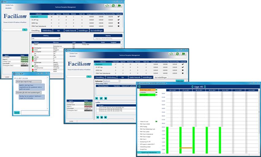 Facilicom Reception Manager
