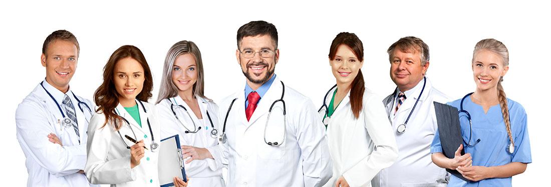 Telefoni til læger og specialklinikker
